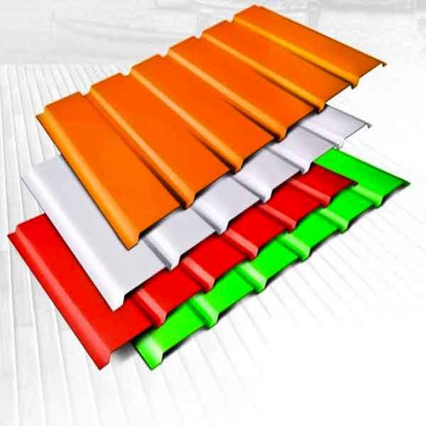 انواع ورق فلزی رنگی